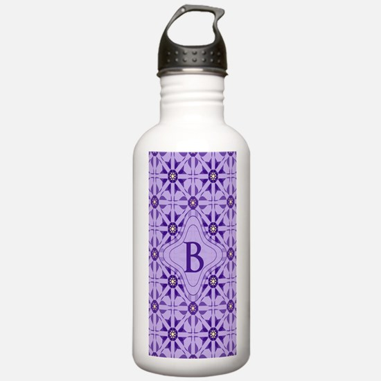 Quilted Violet Water Bottle