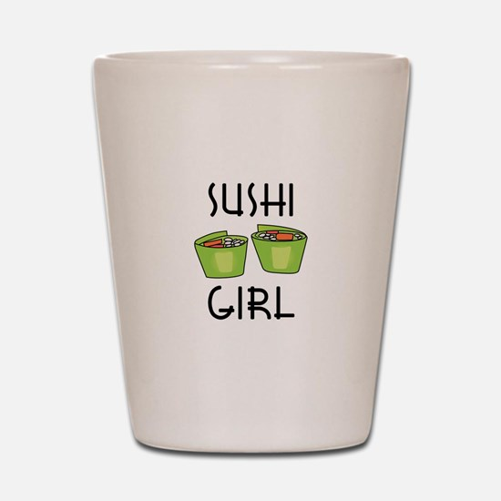 SUSHI GIRL Shot Glass