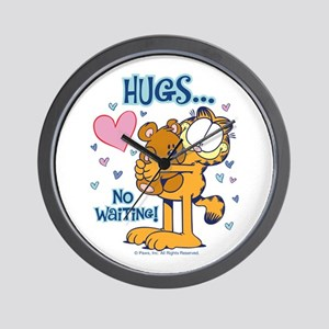 Hugs...No Waiting! Wall Clock