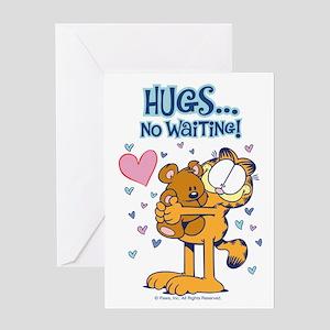 Hugs...No Waiting! Greeting Card