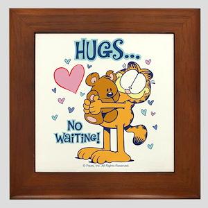 Hugs...No Waiting! Framed Tile