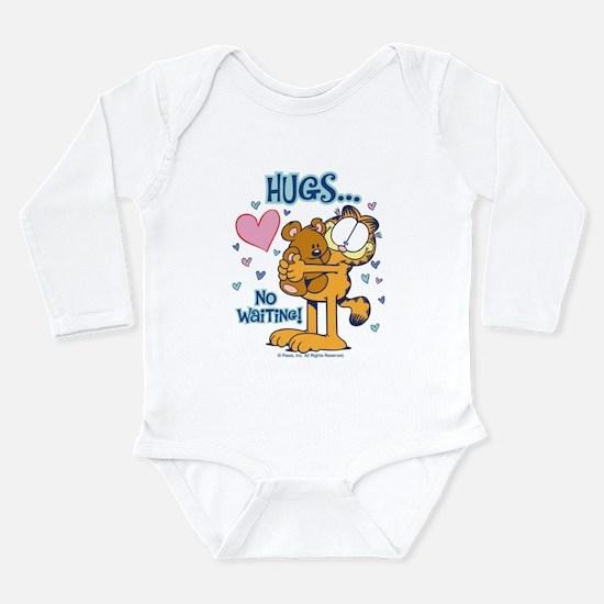 Hugs...No Waiting! Long Sleeve Infant Bodysuit