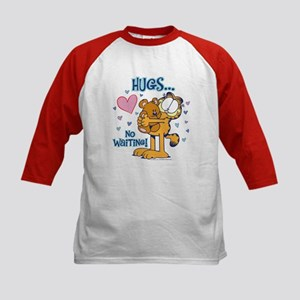 Hugs...No Waiting! Kids Baseball Jersey