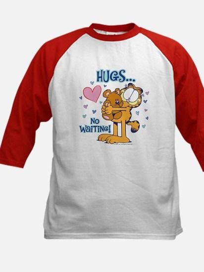 Hugs...No Waiting! Kids Baseball Jersey
