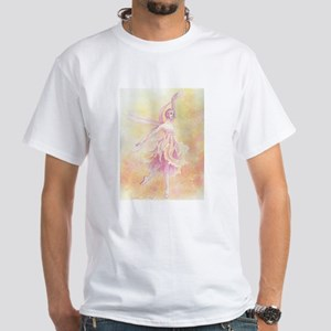 """Dragonfly"" White T-Shirt"