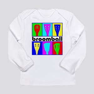 Broomball Heads Long Sleeve T-Shirt
