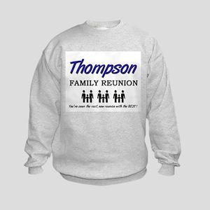 Thompson Family Reunion Kids Sweatshirt