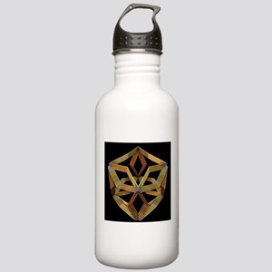 Pretty Box Gold Stainless Water Bottle 1.0L