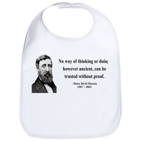 Henry David Thoreau 8 Bib