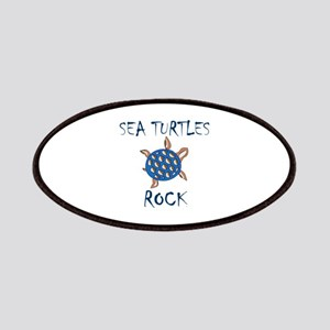 SEA TURTLES ROCK Patches