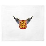 Royal Arms of England King Duvet