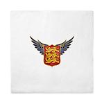 Royal Arms of England Queen Duvet