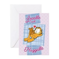 Lovable & Huggable Greeting Card