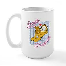 Lovable & Huggable Large Mug