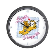 Lovable & Huggable Wall Clock