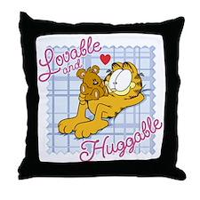 Lovable & Huggable Throw Pillow