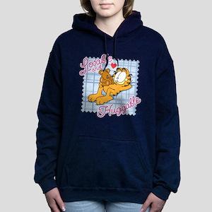 Lovable & Huggable Women's Hooded Sweatshirt