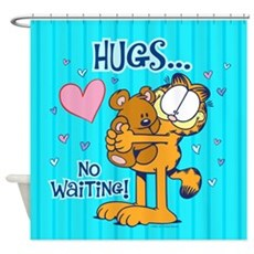 Hugs...no Waiting! Shower Curtain