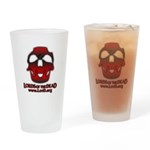 Crownjaw,red Drinking Glass