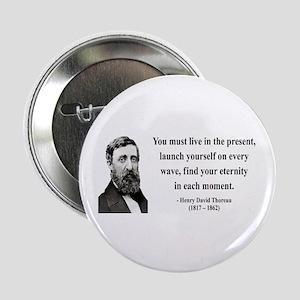 "Henry David Thoreau 9 2.25"" Button"
