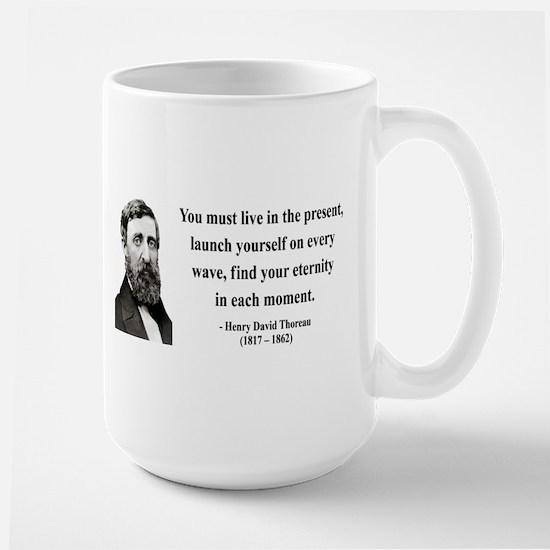 Henry David Thoreau 9 Large Mug