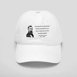 Henry David Thoreau 9 Cap