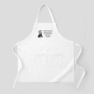 Henry David Thoreau 9 BBQ Apron