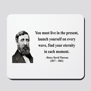 Henry David Thoreau 9 Mousepad