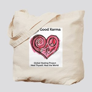 Being Good Karma Tote Bag