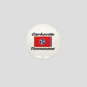 Clarksville Tennessee Mini Button