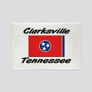 Clarksville Tennessee Rectangle Magnet