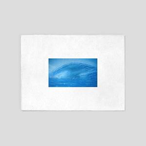 blue wave 5'x7'Area Rug