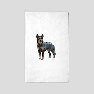 australian cattle dog Area Rug