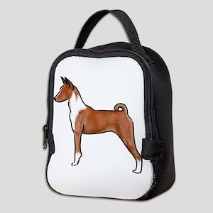 basenji Neoprene Lunch Bag