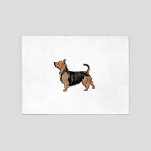 australian terrier 5'x7'Area Rug