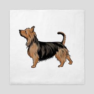 australian terrier Queen Duvet