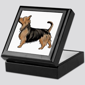 australian terrier Keepsake Box