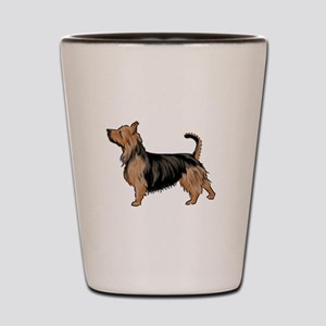 australian terrier Shot Glass