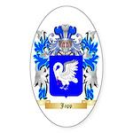Japp Sticker (Oval 50 pk)