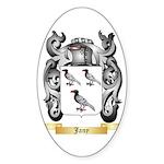 Jany Sticker (Oval 10 pk)