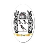 Jany 20x12 Oval Wall Decal