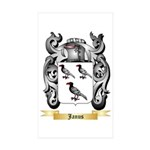 Janus Sticker (Rectangle 50 pk)