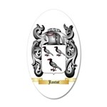 Jantot 20x12 Oval Wall Decal