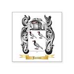 Janton Square Sticker 3