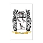 Jantet 20x12 Wall Decal