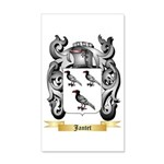 Jantet 35x21 Wall Decal