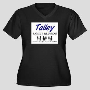 Talley Family Reunion Women's Plus Size V-Neck Dar