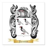 Jansson Square Car Magnet 3