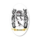Jansson 20x12 Oval Wall Decal
