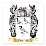 Janssens Square Car Magnet 3